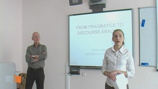 "Lecture ""From Pragmatics to Discourse Analysis"""