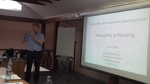 Lecture «Inequality and Economic Development», Prof. Jeroen Smiths (part 2)